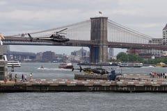 Helipuerto céntrico 54 de Manhattan Fotografía de archivo
