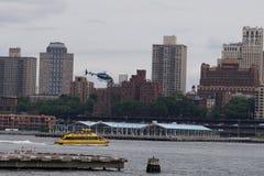 Helipuerto céntrico 46 de Manhattan Imágenes de archivo libres de regalías