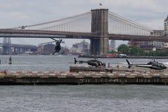 Helipuerto céntrico 45 de Manhattan Foto de archivo