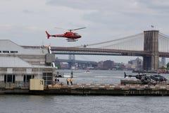 Helipuerto céntrico 27 de Manhattan Foto de archivo libre de regalías