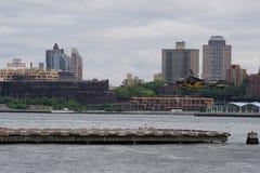 Helipuerto céntrico 3 de Manhattan Fotos de archivo