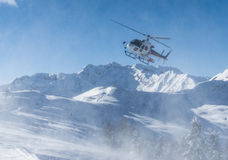Heliskiing Royalty Free Stock Photo