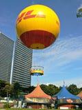 Helium balloon Stock Image