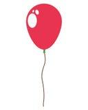 Helium balloon flat icon Stock Images
