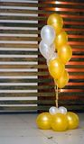 Helium balloons Stock Photos