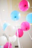 Helium Balloons Royalty Free Stock Photo
