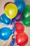 Helium balloons Stock Photography