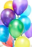 Helium balloons Stock Photo