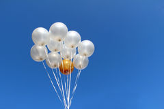 Helium Filled Party Balloons Royalty Free Stock Images