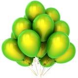 Helium Hinauftreiben von Aktienkursen (Mieten) Lizenzfreie Stockfotos