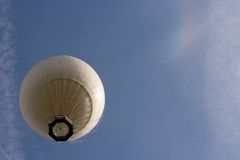 Helium passenger balloon royalty free stock photo