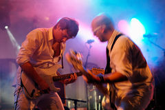 Helium6 in concert royalty free stock photo