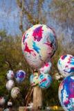 Heliumballon Royalty-vrije Stock Fotografie