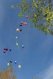Heliumballon Royalty-vrije Stock Foto's