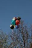 Heliumballong Arkivfoto