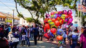 Heliumballong Royaltyfri Fotografi