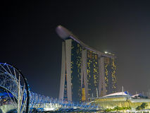Helix Bridżowy Singapore Obraz Stock