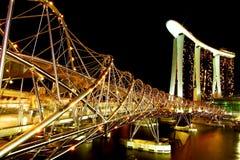 The Helix Bridge Stock Images