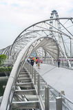 The Helix Bridge Stock Photos