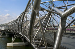 The Helix Bridge Royalty Free Stock Photography