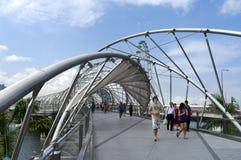 Helix Bridge Royalty Free Stock Photo