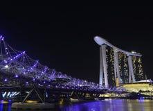 Helix bridge Royalty Free Stock Photos