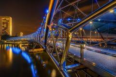 Helix Bridge Royalty Free Stock Images
