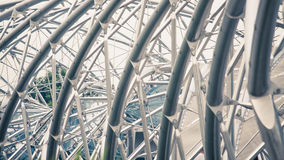 Helix Bridge at Singapore like a DNA Stock Photo