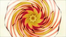 Helix fractal kaleidoscope stock video footage