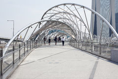Helix Marina i mosta Podpalani piaski Obrazy Royalty Free