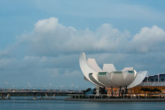 Helix most & sztuki nauka muzeum Zdjęcia Royalty Free