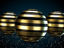 Helix spheres Royalty Free Stock Photos