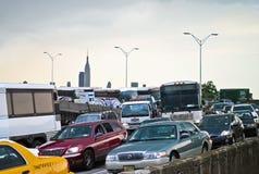 Helix Tunnel Traffic Stock Photo