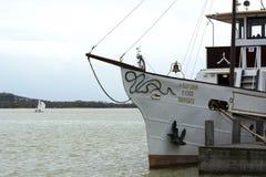 Helka passenger ship on Lake Balaton  Keszthely Stock Photos