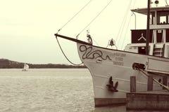 Helka passenger ship on Lake Balaton  Keszthely Stock Image