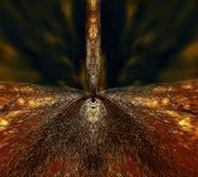 Hell's brama, abstrakcjonistyczna ilustracja Obraz Stock
