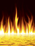 Hell. Eternal Hell Lake of Fire Stock Images