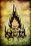 From hell. Digital background for your artistic creations and/or projects Stock Images