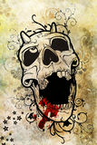 From hell. Digital background for your artistic creations and/or projects Stock Photos