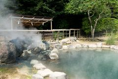 Hell in Beppu city of Japan Royalty Free Stock Images