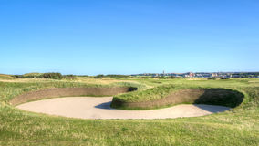 Hell Bunker Old Course St Andrews Royalty Free Stock Photos