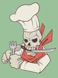 Hell Chef Stock Photography