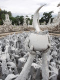 Hell creatures symbol at Wat Rong Khun (The White Temple) Royalty Free Stock Image