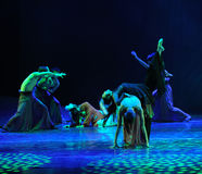 From hell-The dance drama The legend of the Condor Heroes Royalty Free Stock Photos