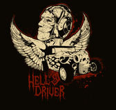 Hell driver Stock Photography
