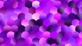 Hell farbiges Veilchen-und Purpur-Mosaik-Funkeln lizenzfreie abbildung