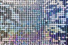 Hell, festlich, funkelnd und blenden, abstrakter Hintergrund Festliche Dekorationen und Dekoration von runden glänzenden metallis lizenzfreie abbildung