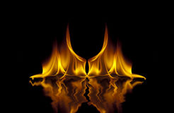 Hell Fire Royalty Free Stock Images