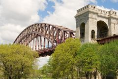 Hell Gate Bridge Royalty Free Stock Photography