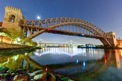 Hell Gate Bridge - New York City Royalty Free Stock Photos